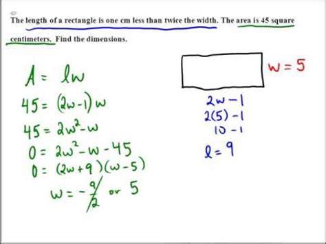 Using formulas to solve problems